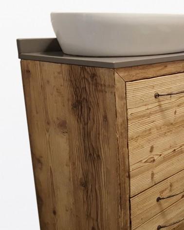 Mobile Bagno Nives | Legno vecchio