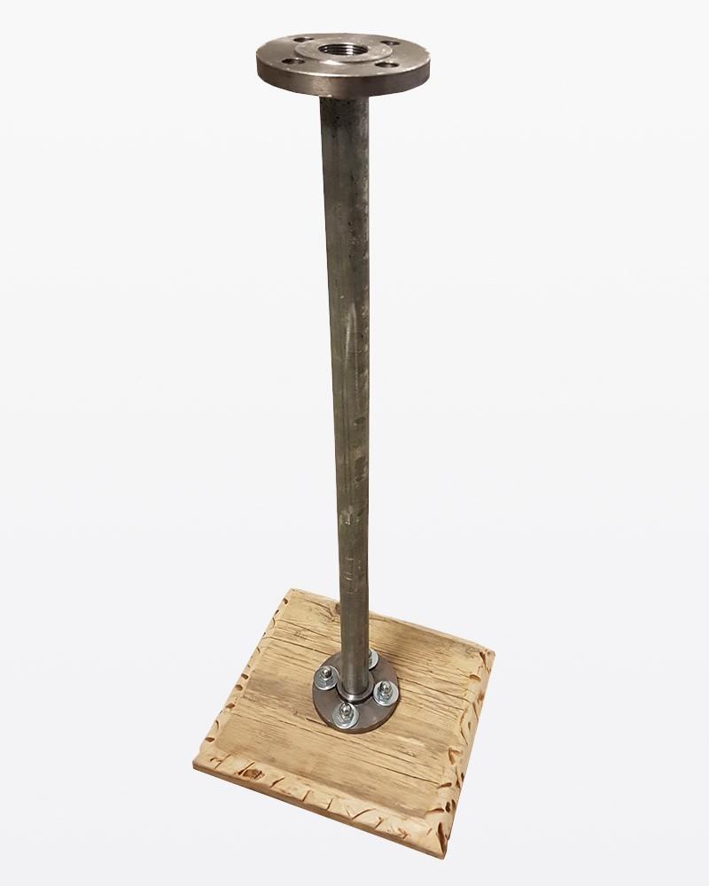 Basamento in acciaio e legno | Ferramenta