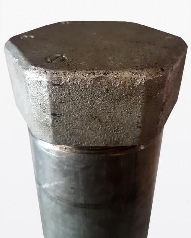 Gamba in ferro con flangia | Mobili grezzi