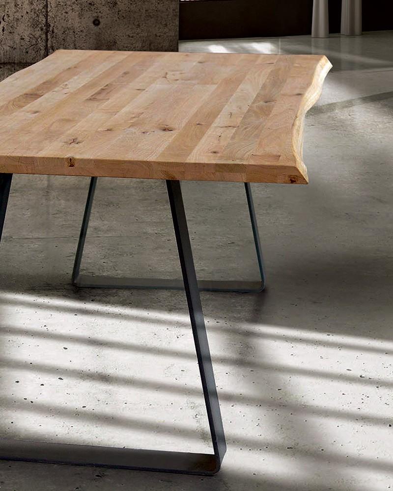 Tavolo Wardy Dimensione cm. 160 x 90 + spessore 4 cm.