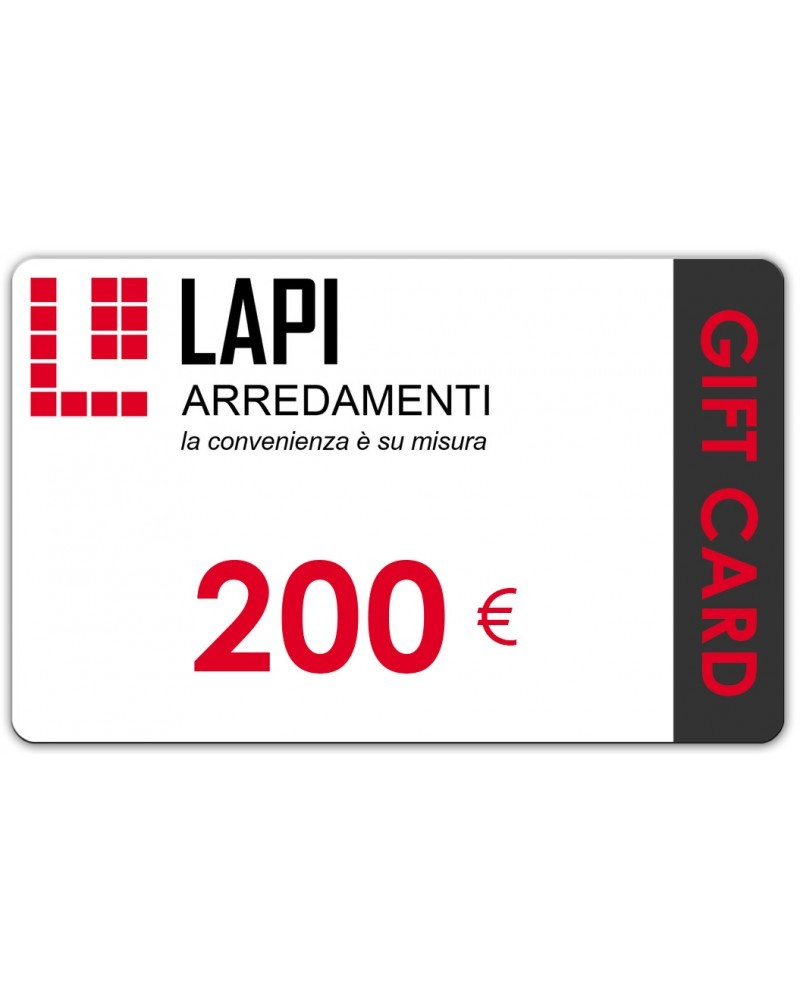 Gift Card 200 Euro | OUTLET
