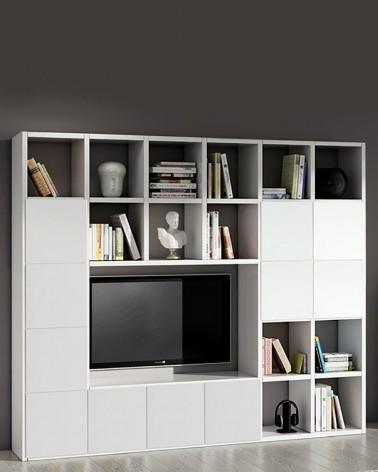 Libreria Porta TV Linel | Zona giorno stile moderno