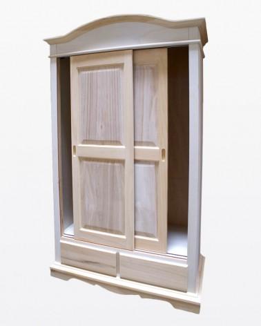 Armadio grezzo con porta scorrevole | Mobili grezzi