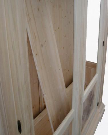 Vetrina grezza Shayne | Mobili grezzi