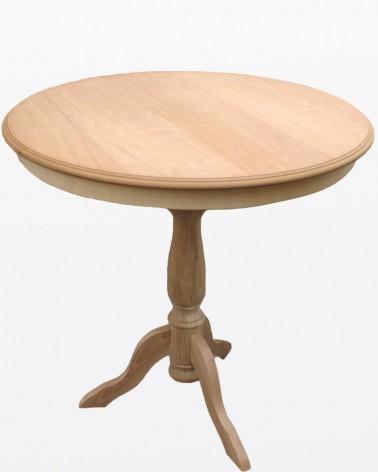 Tavolino rotondo grezzo | Mobili grezzi