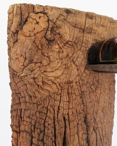 Portabottiglie da parete   Legno vecchio
