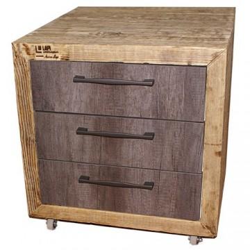 Cassettiere legno vecchio