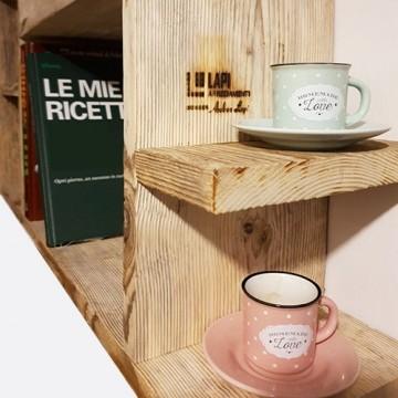 Librerie in legno di recupero
