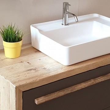 Mobili bagno legno vecchio